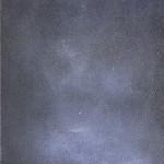 Dove sono io? Ossidi, terre e sabbie su tela 2004, 70x50 cm