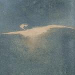 Favola Ossidi, terre e sabbie su tela 2003, 70x50 cm