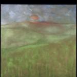 Immutabile Ossidi, terre e sabbie su tela 2003, 150x150 cm