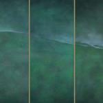 Temporalità di Natura (Collina - Declivio - Alberi) 2004 - Trittico 180x240 cm