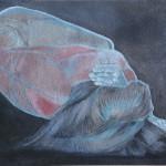 Essenza Ossidi, terre e sabbie su tela, 80 x 120cm